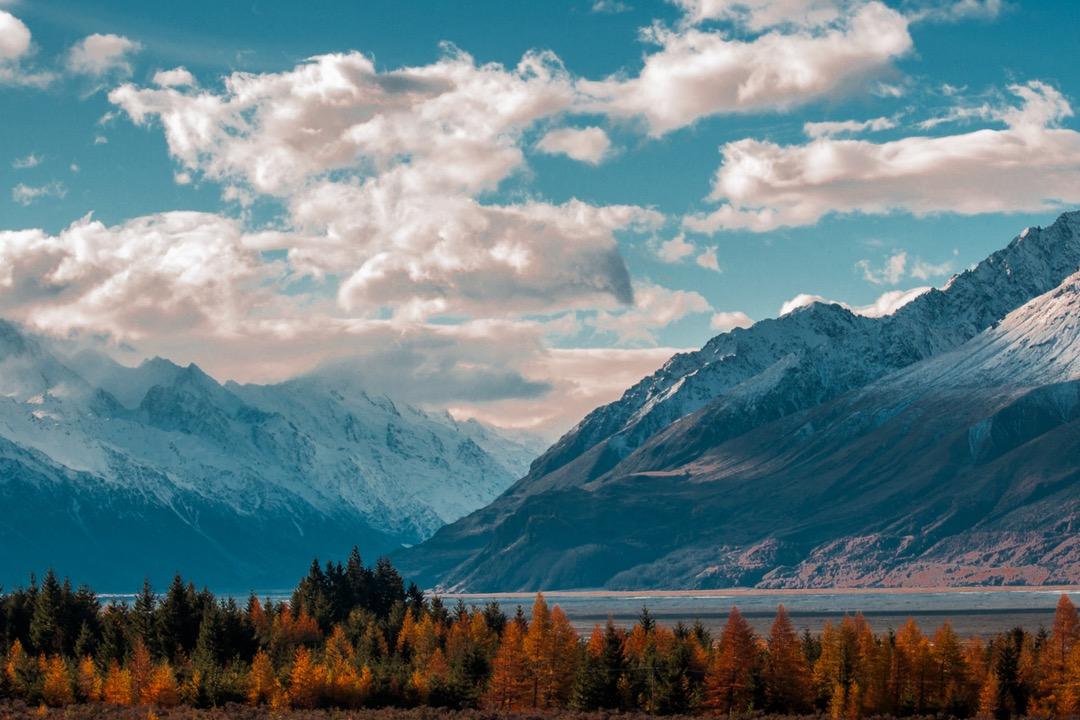 grume paisaje montaña
